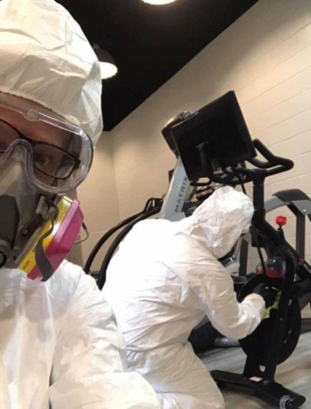 Doug Heiferman Covid-19 Cleaning Classes
