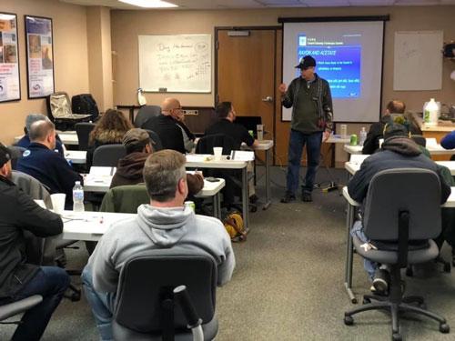Doug Heiferman teaching IICRC classes