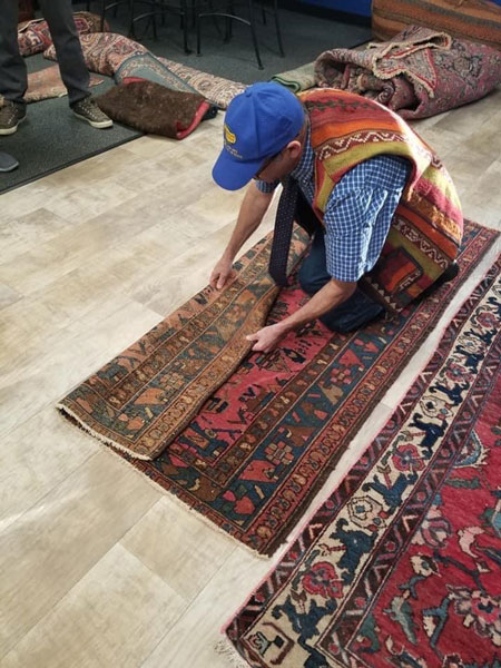 Area rug cleaning class