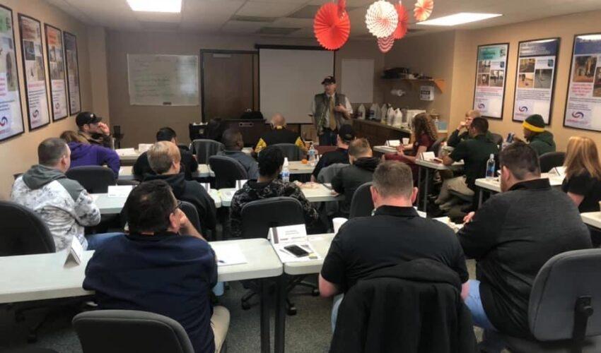 Doug Teaching IICRC Class